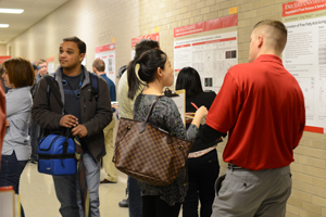 CCUR and BCRF hosted a poster competition April 3 for Iowa State University undergraduate and graduate students engaged in food, feed and biorenewables research.
