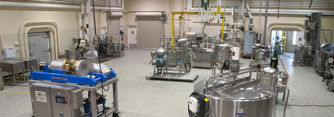 Wet Processing Pilot Plant, Center for Crops Utilization Research