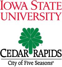 Iowa State University and Cedar Rapids, Iowa Logos