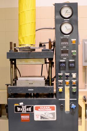 Wabash Metal Products 20-1212-2TMB 20 Ton Hydraulic Compression Molding Press